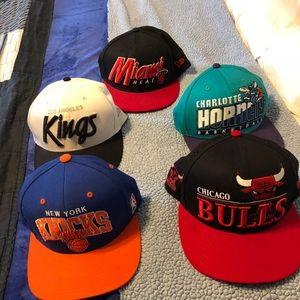 Baseball hat for men lot of 5
